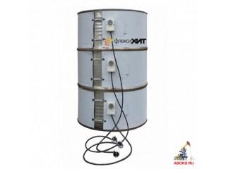 Поясной полиуретановый высокотемпературный нагреватель для мягкого разогрева сырья до +150 ºС