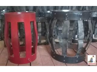 Центраторы пружинные цельно-металлические обсадных колонн