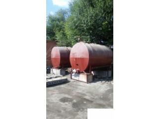 Емкости на 10м3, с радиаторами для подогрева