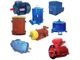 Электродвигатели А4,  АК4,  ДАЗО,  ВАО4,  2ЗМВ,  ВАСО4,  4АЗВ, 4АЗМ. Общепромышленные до 250 кВт
