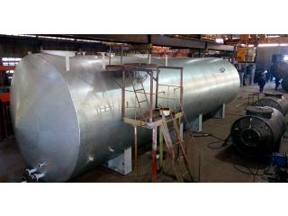Резервуар стальной горизонтальный РГС-100