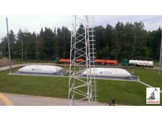 Резервуары для нефтепродуктов. Емкости для ГСМ. Топливный склад в наличии