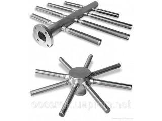 Нижние и верхние распределительные (НРУ, ВРУ) устройства для фильтров ФИПа, ФОВ, колпачки щелевые