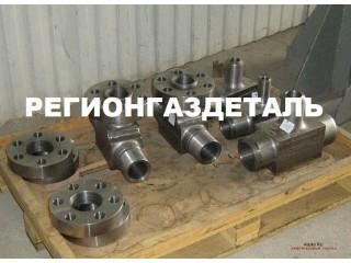 Тройник ГОСТ 22800-83 на Ру св. 10 до 100 МПа (св. 100 до 1000 кгс/см2)