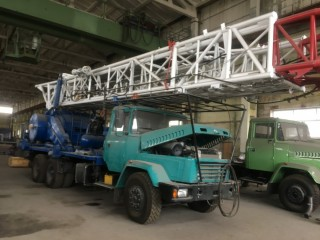 Агрегат УПА 60/80 на шасси КрАЗ-65053